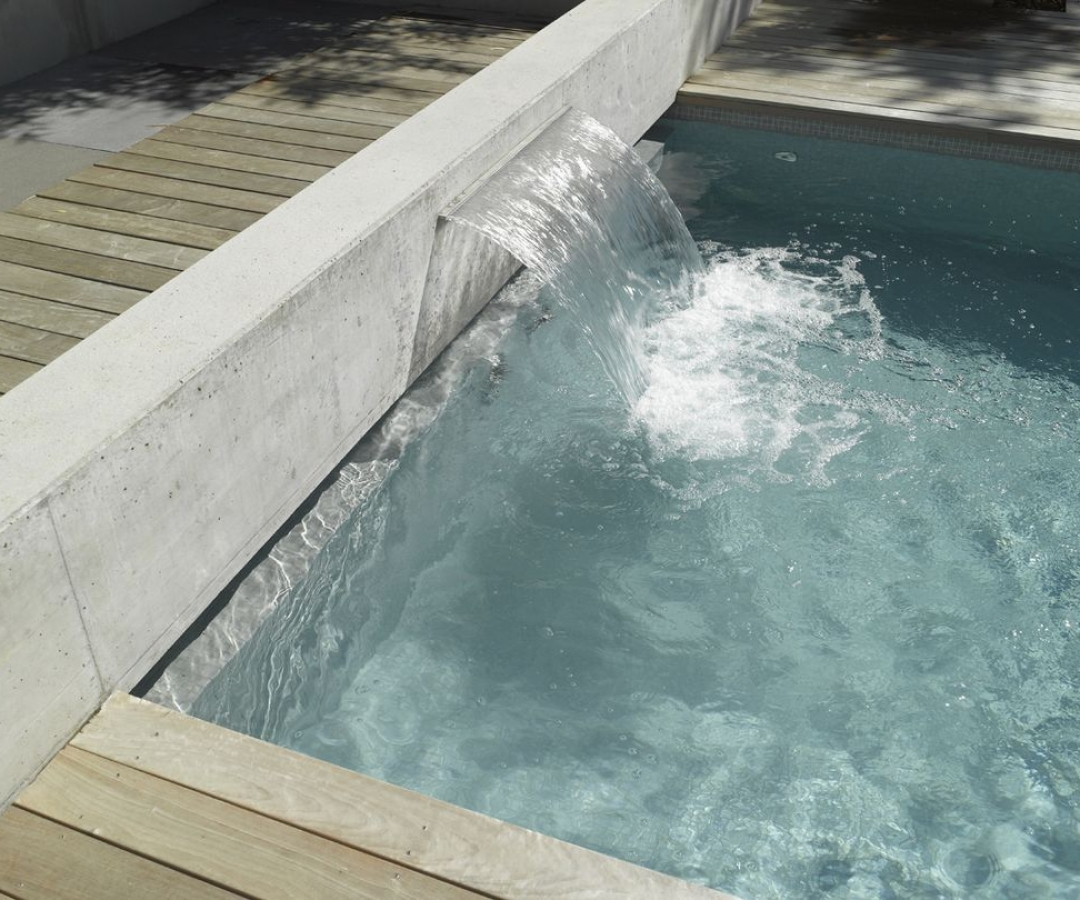 Piscine coffrage en b ton arm nicollier piscines for Construction piscine 79